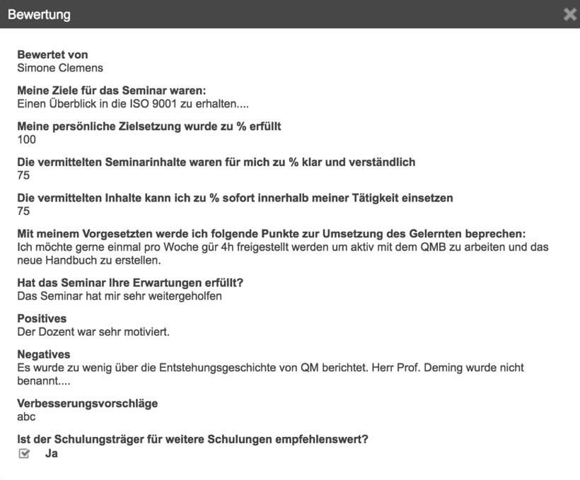 QM-Ergänzungsmodul Schulungen und Unterweisungen - ipro Consulting GmbH